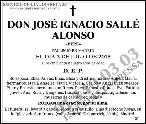 José Ignacio Sallé Alonso